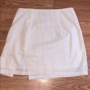 Princess Polly Skirts - A white mini skirt